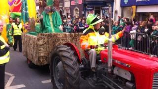 Omagh parade