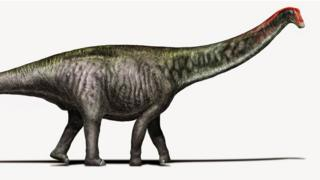 What a Brontosaurus was thought to look like