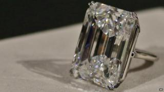 The world's largest flawless diamond
