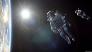 Shot of the film Gravity