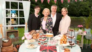 Great British Bake Off presenters