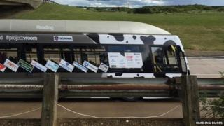 'Cow poo' bus
