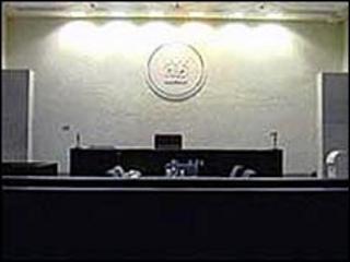 Court bench