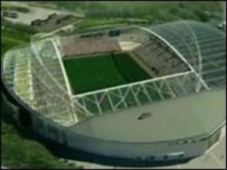 Plans for Falmer Stadium