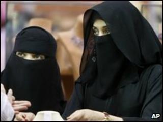 Saudi Arabian women in Riyadh (March 2009)