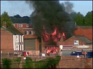Fatal fire in Wise Street, Leamington Spa