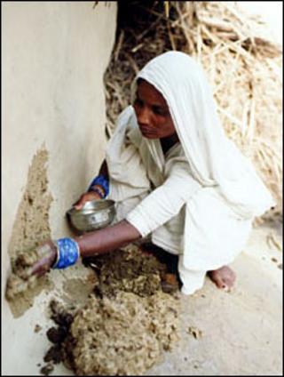 Nepal widow