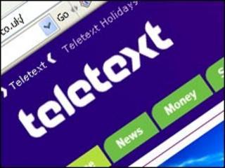 Teletext website