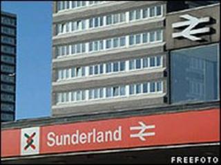 Sunderland Train Station - freefoto.com