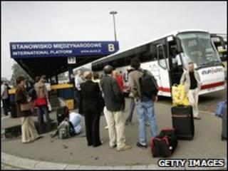 Warsaw bus station