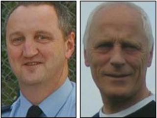 Geoff Wicker and Brian Wembridge