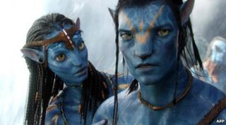 A scene from Avatar