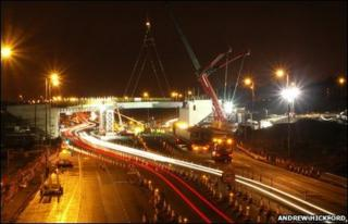 New A80 overbridge