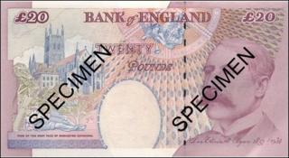 A £20 note