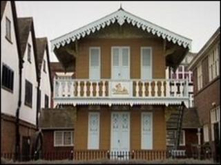 Charles Dickens' chalet in Rochester