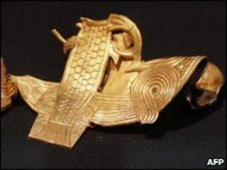 Staffordshire Hoard Anglo-Saxon gold work