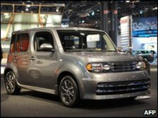 The Nissan Cube is targeted at the North American market