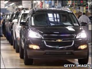 General Motors SUV vehicles