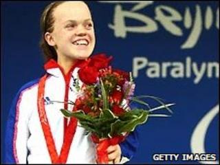 British paralympian Eleanor Simmonds