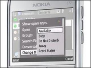 Microsoft Communicator Mobile software