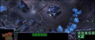 Starcraft II screenshot, Blizzard