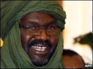 Justice and Equality Movement (Jem) leader Dr Khalil Ibrahim