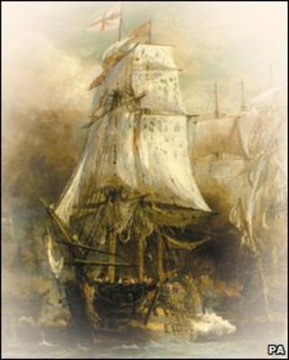 HMS Victory, PA
