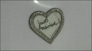 Just married horseshoe