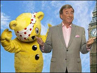 Pudsey and Sir Terry Wogan