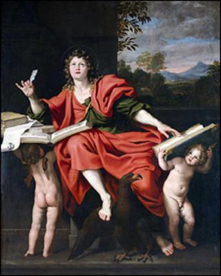 Saint John the Evangelist, by Italian master Domenichino