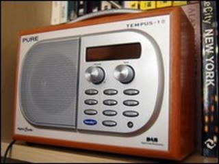 A radio, yesterday