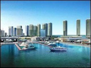 Dubai Maritime City (artist's impression)