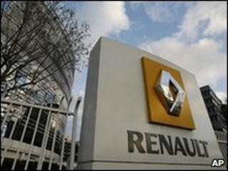 Renault headquarters outside Paris