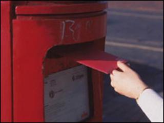 Posting a letter
