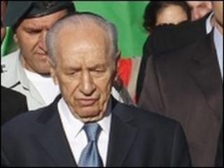 Israeli President Shimon Peres (Photo from 12 May 2010)