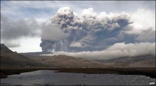 Ash from Iceland's Eyjafjallajokull volcano