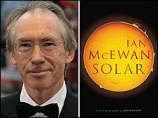 Ian McEwan and the Solar book jacket