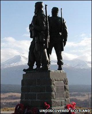 Commando Monument at Spean Bridge