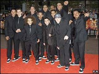 Diversity at the UK premiere of Streetdance