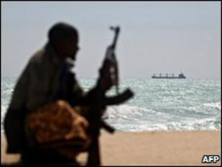 Armed Somali pirate (file photo)