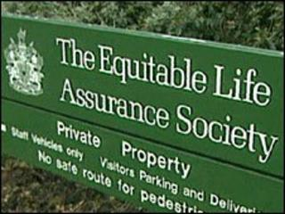Equitable Life sign