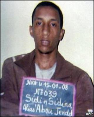 Sidi Ould Sidina (Photo: Mauritanian police 2008)
