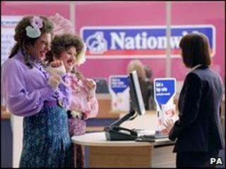 Nationwide advert featuring Little Britain's David Walliams and Matt Lucas