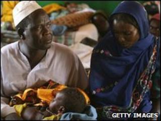 Refugees in Chad (file photo)