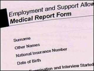 Medical assessment form