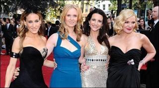 Sarah Jessica Parker, Cynthia Nixon, Kristen Davis and kim Cattrall