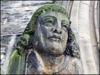Church statue [generic]