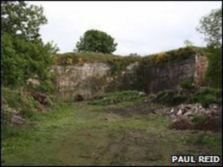 Quarry at Legaston Farm