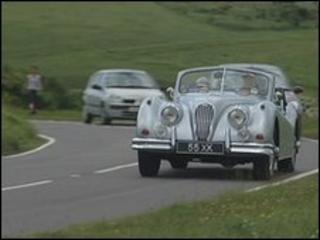 Jaguar run