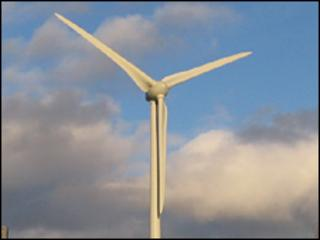 Generic image of a wind turbine